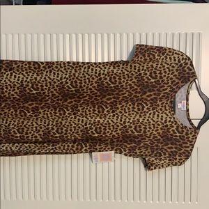 Small Maria Unicorn leopard dress